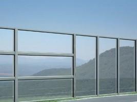 Mur anti bruit transparent scorsa de kholhauer for Paroi anti bruit exterieur